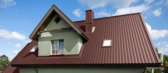 Как сделать крышу из профнастила?