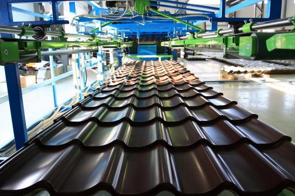 Производство металлочерепицы особенности технологии
